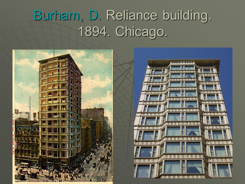 H. RICHARDSON: Almacenes Marshall. Chicago. 1887.