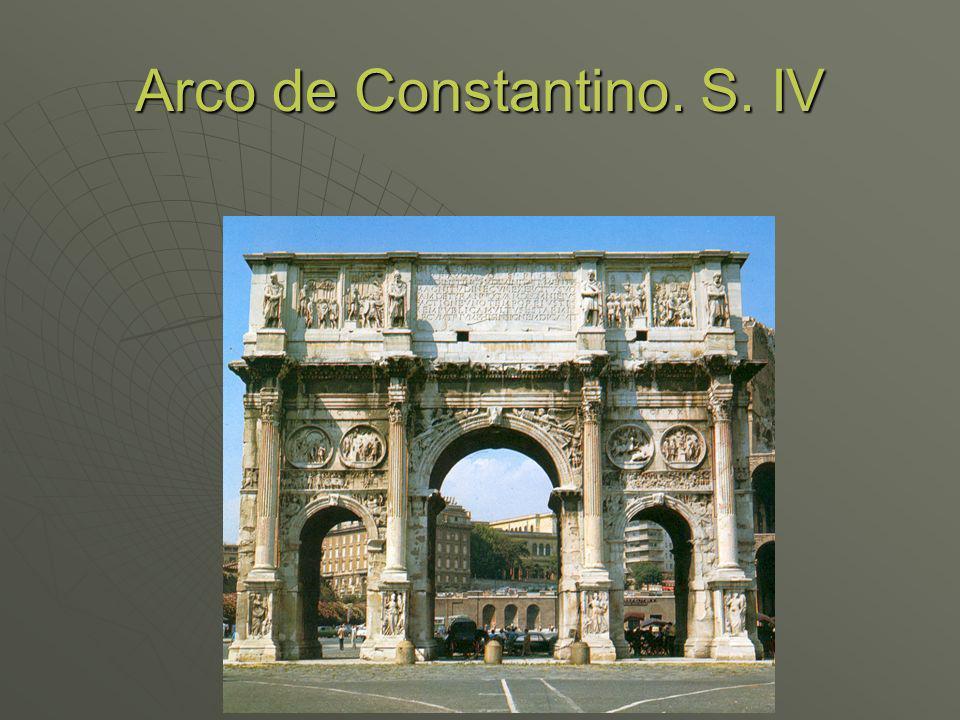Arco de Constantino. S. IV