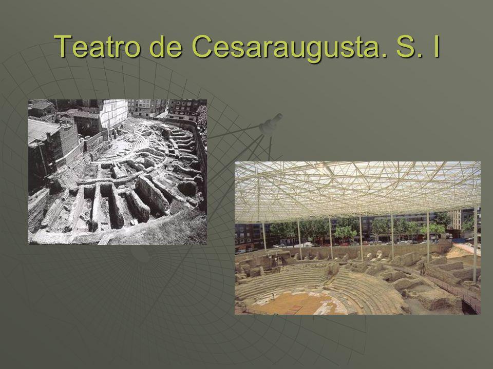 Teatro de Cesaraugusta. S. I