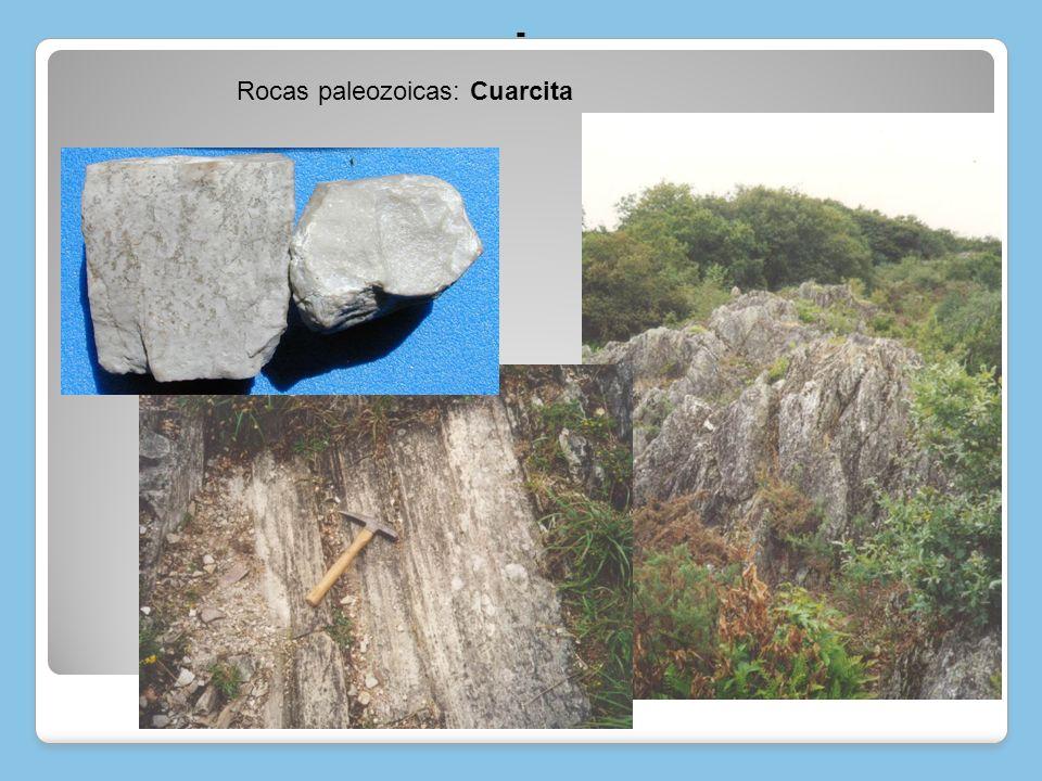 Rocas paleozoicas: Granito Evolución geológica de las unidades morfoestructurales Evolución geológica de las unidades morfoestructurales