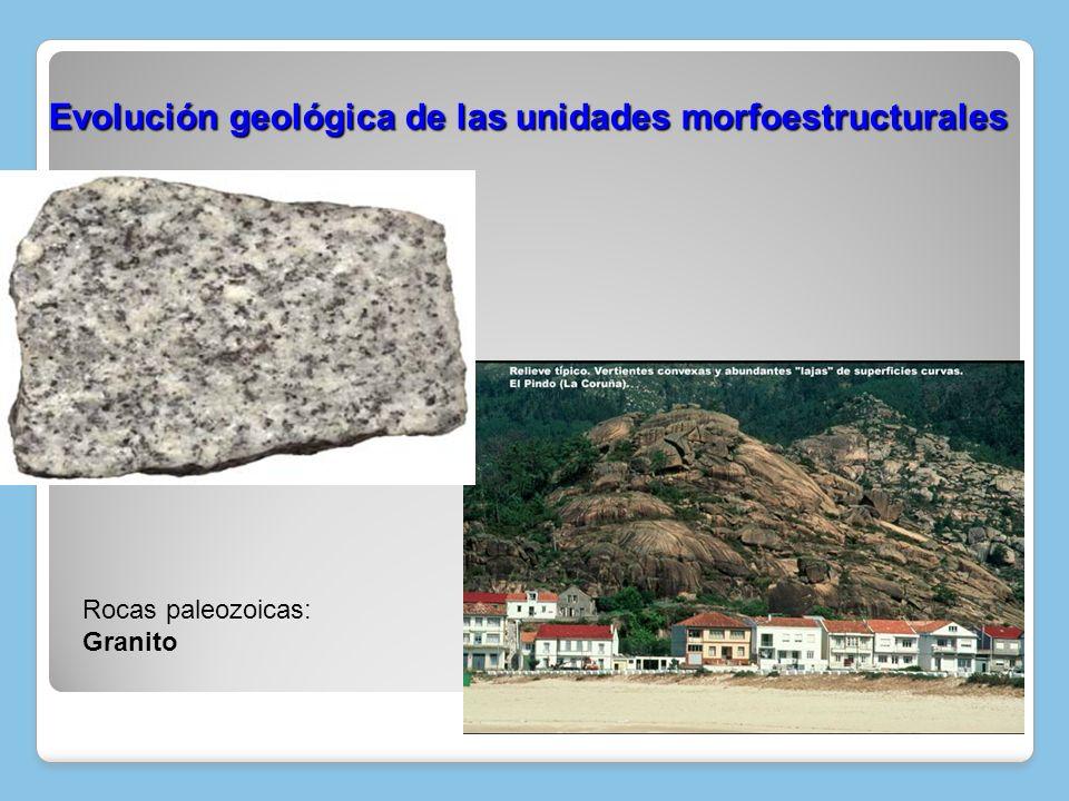Plegamiento de los sedimentos de las fosas tectónicas (estilo tectónico jurásico) Fractura del zócalo y elevación y hundimiento de bloques (macizos antiguos: estilo tectónico germánico) Fractura del zócalo y plegamiento de los sedimentos que se encuentran sobre él, después de las transgresiones y regresiones marinas (estilo tectónico sajónico) Depresiones prealpinas Basculación hacia el atántico Era terciaria o Cenozoico (68 – 1,7 m.a.) Recapitulemos: Evolución geológica de las unidades morfoestructurales
