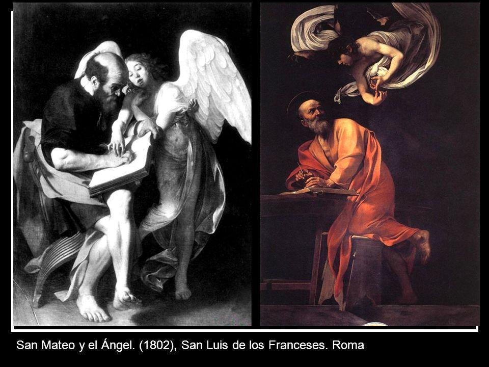 Crucifixión de San Pedro. Iglesia de Sta. María del Popolo. Roma. 1600.