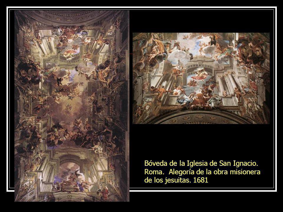 Juan B. Tiépolo. Palacio Real. Madrid. 1762 Apoteosis de la Monarquía española