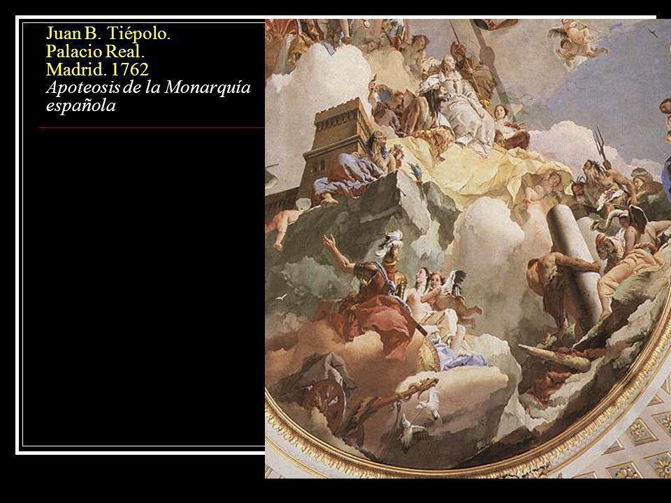 La pintura Barroca: Tendencias y estilos.Pintura decorativa, de vistas Las Vedute.