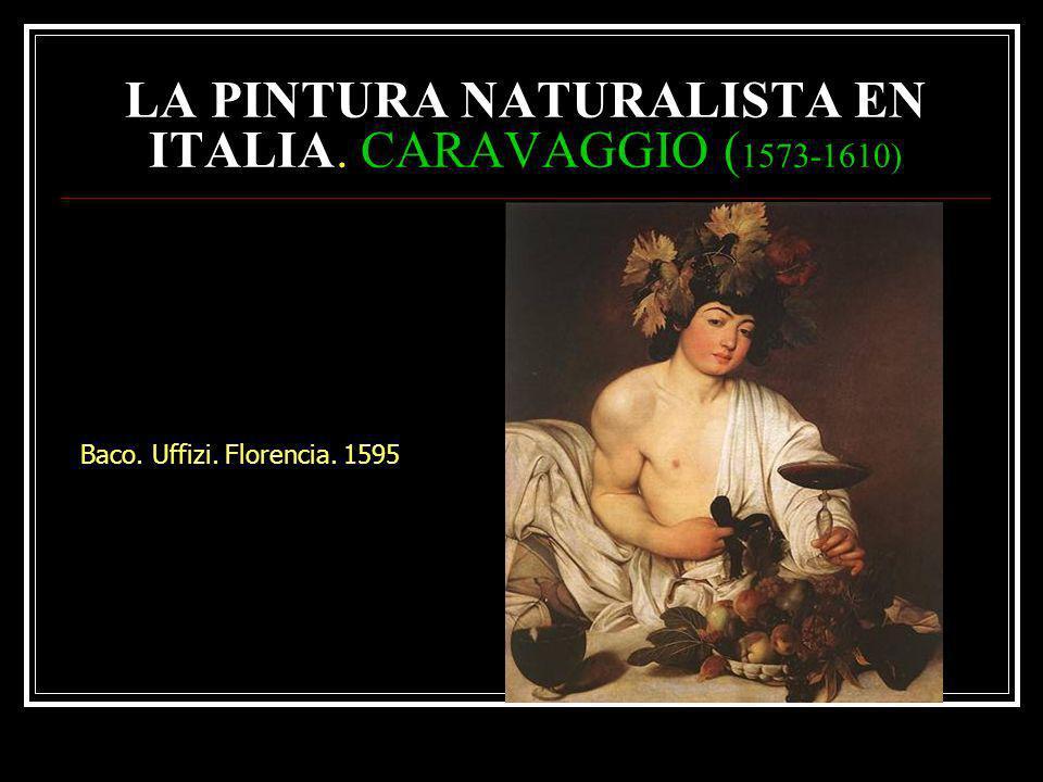 Cesto de frutas 1596. Milán.