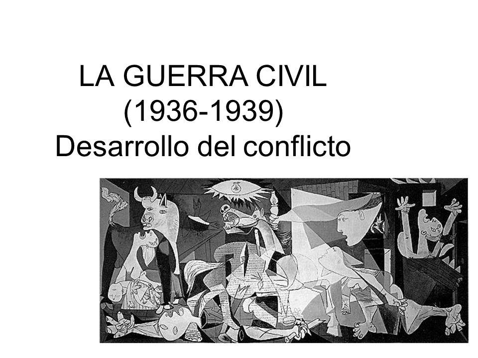 Golpe de estado contra la República Preparación desde febrero-marzo de 1936.