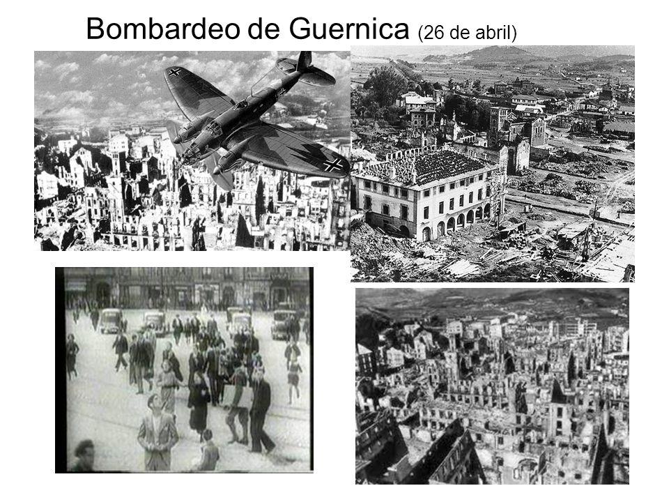 Bombardeo de Guernica (26 de abril)