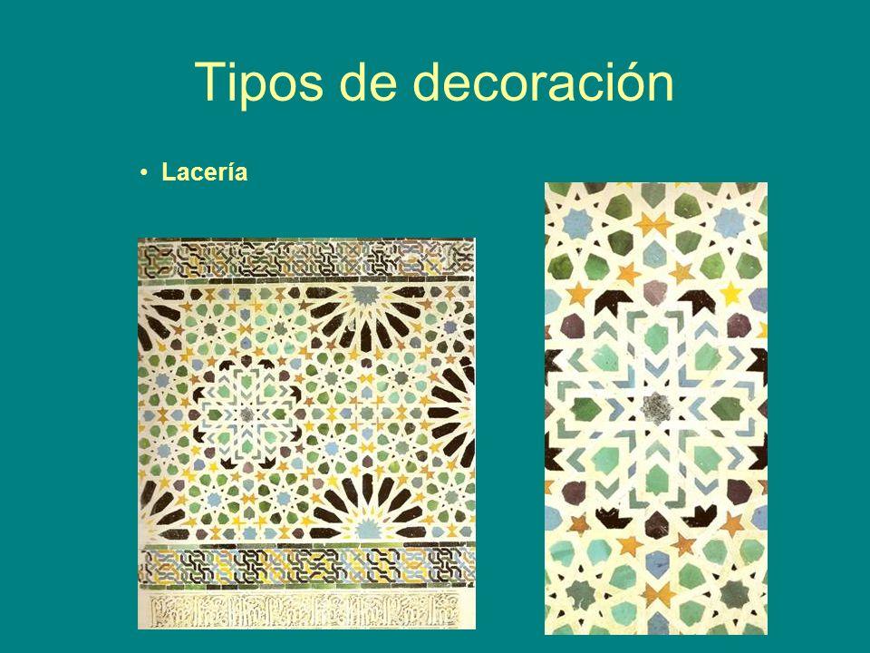 Tipos de decoración Lacería