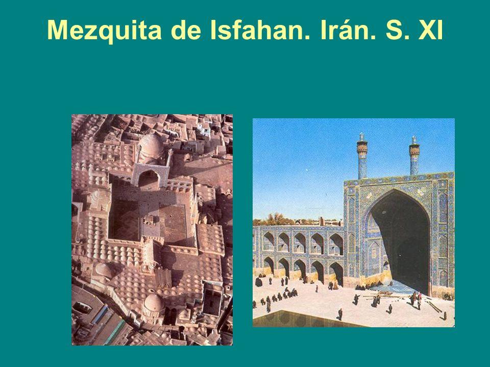Mezquita de Isfahan. Irán. S. XI