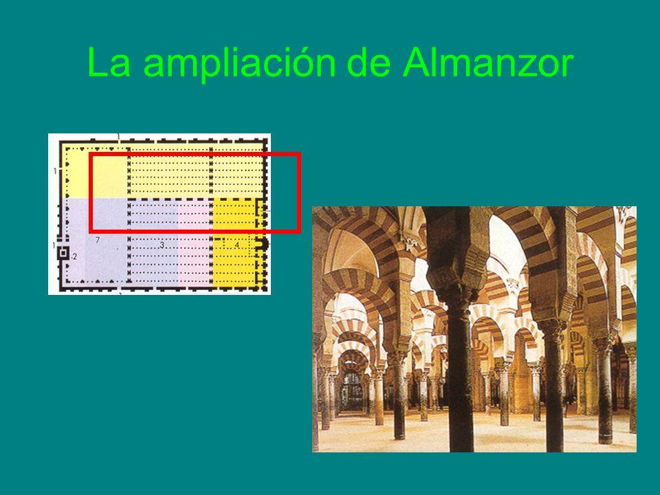 La ampliación de Almanzor