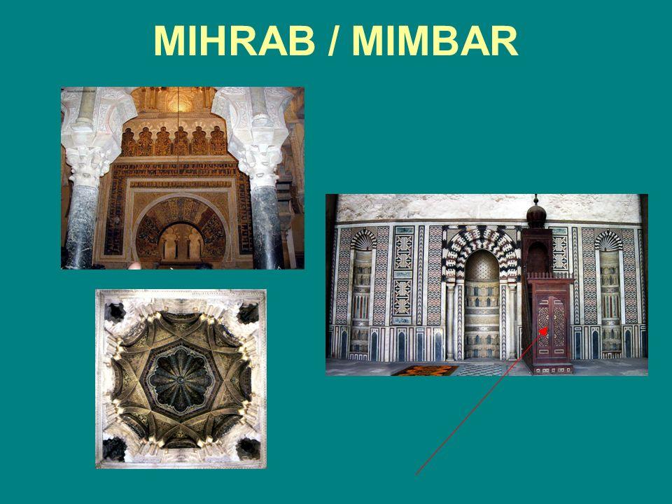 MIHRAB / MIMBAR