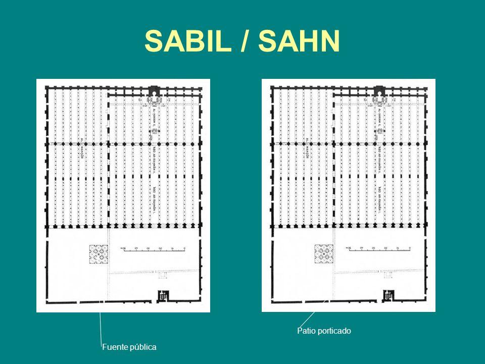 SABIL / SAHN Fuente pública Patio porticado