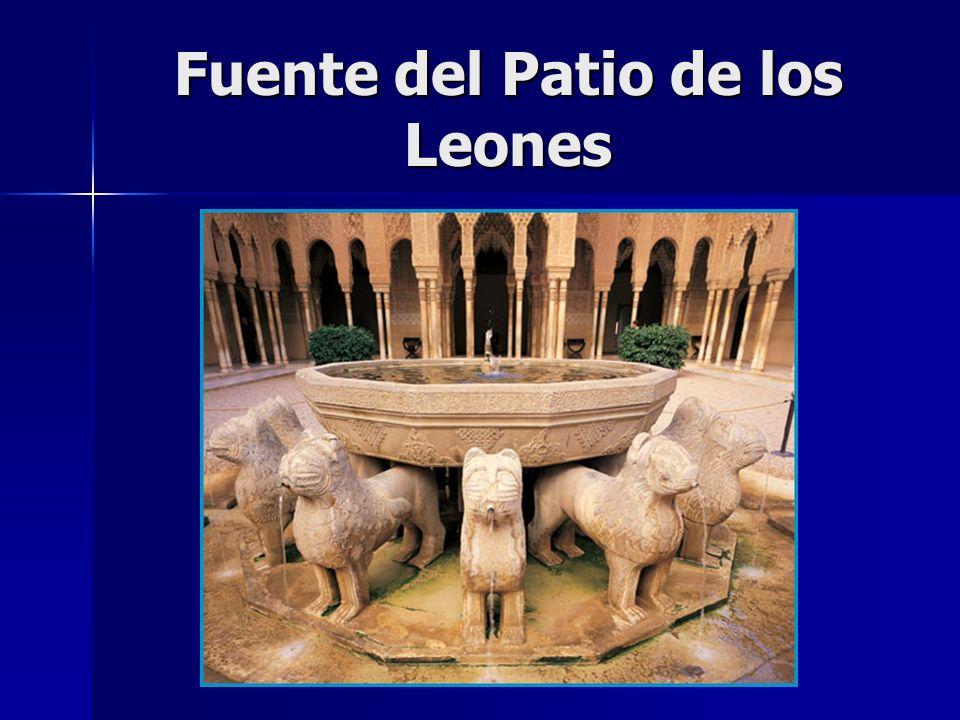 Fuente del Patio de los Leones