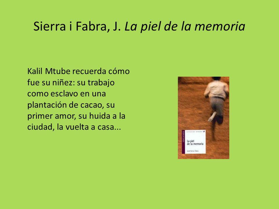 Sierra i Fabra, J.
