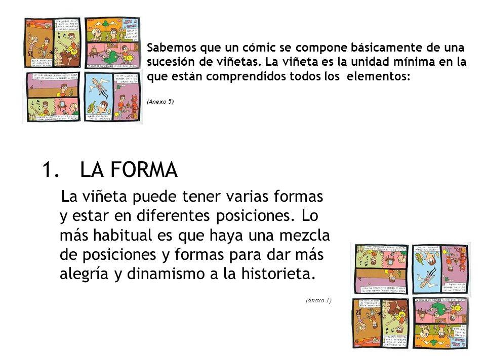 ANEXO 5 Elementos del cómic