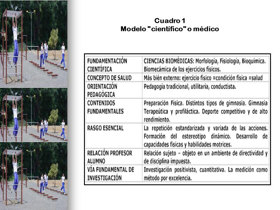 Cuadro 1 Modelo