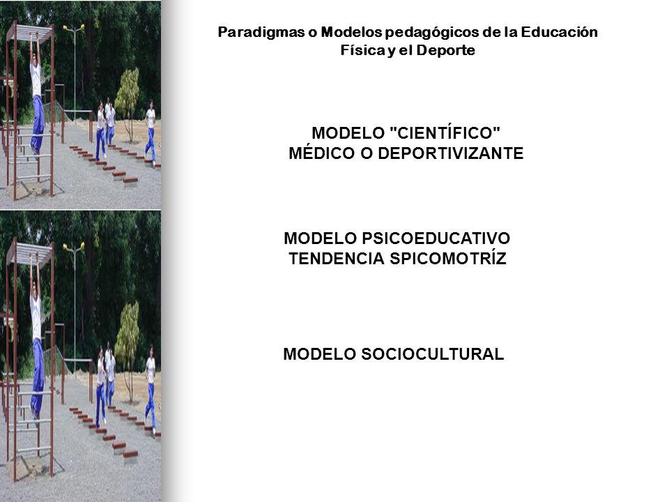Paradigmas o Modelos pedagógicos de la Educación Física y el Deporte MODELO