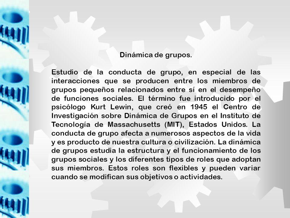 ETAPAS DEL DESARROLLO DEL GRUPO Formación Tormenta Normalización Desempeño Disolución o Dispersión