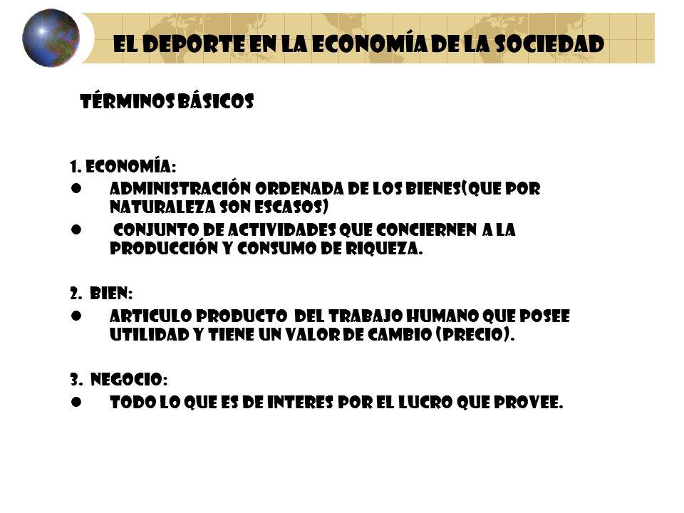 1. ECONOMÍA: ADMINISTRACIÓN ORDENADA DE LOS BIENES(que por naturaleza son escasos) CONJUNTO DE ACTIVIDADES QUE CONCIERNEN A LA PRODUCCIÓN Y CONSUMO DE