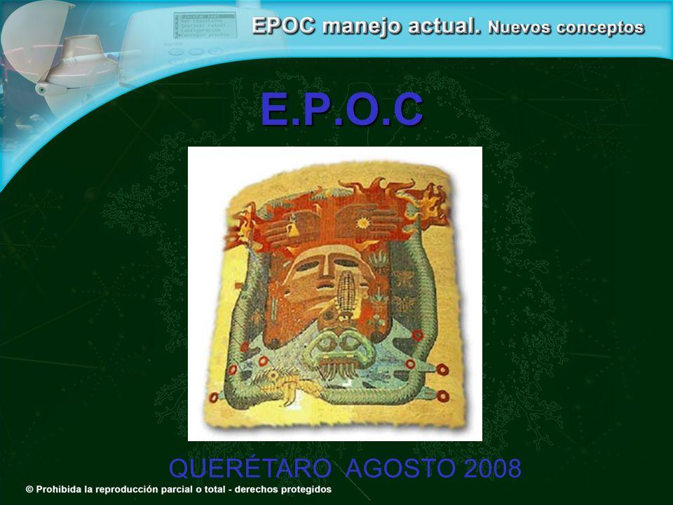 E.P.O.C QUERÉTARO AGOSTO 2008