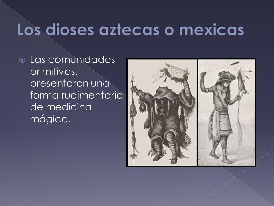 Las comunidades primitivas, presentaron una forma rudimentaria de medicina mágica.