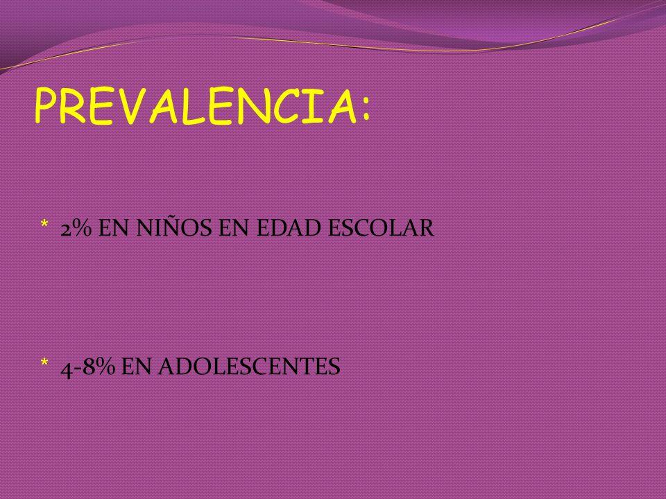 ENTREVISTA CON EL NIÑO * JUEGO * PSEUDOJUEGO : MECÁNICO, REPETITIVO, SE ABANDONA POR ANHEDONIA.