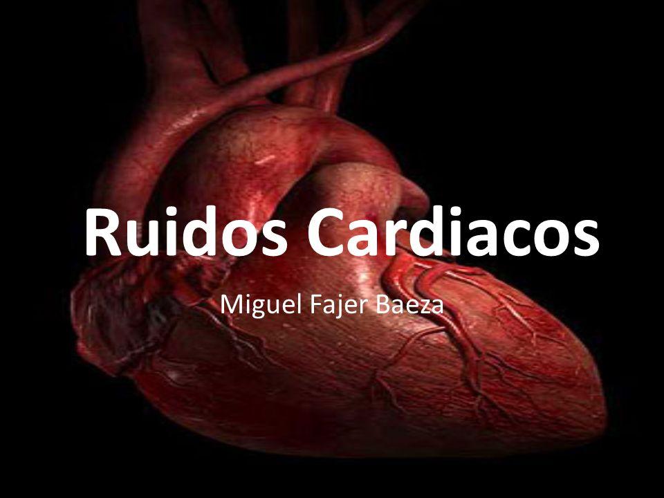 Ruidos Cardiacos Miguel Fajer Baeza