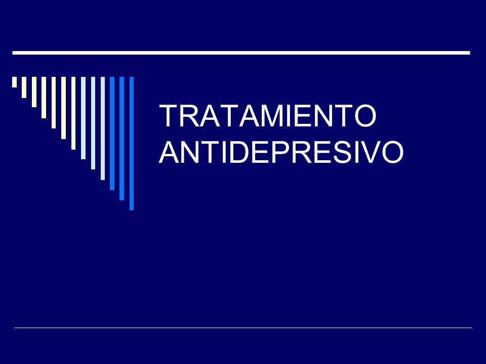 TRATAMIENTO ANTIDEPRESIVO