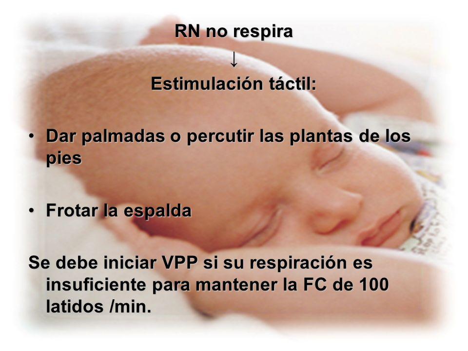 EQUIPO DE BOLSA Y MASCARA Bolsa de resucitación neonatal, con manómetro o válvula de escape, capaz de brindar O2 a 90 o 100%.