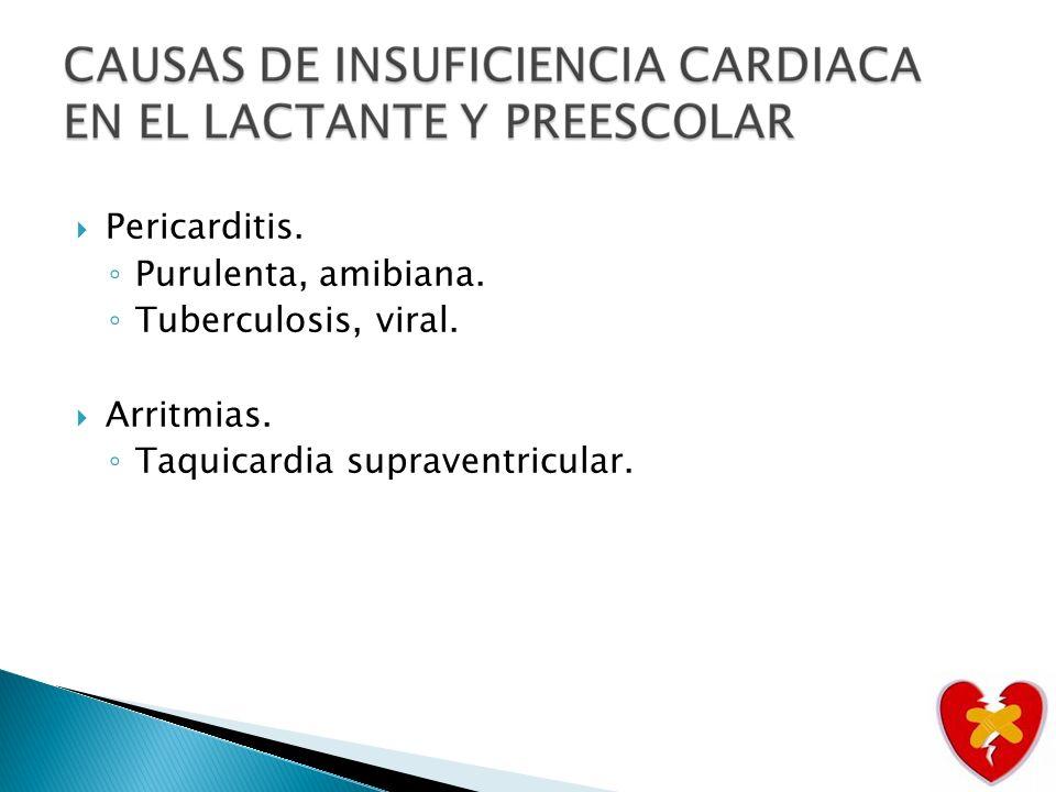 Pancarditis reumática.Cardiopatía congénita operada.
