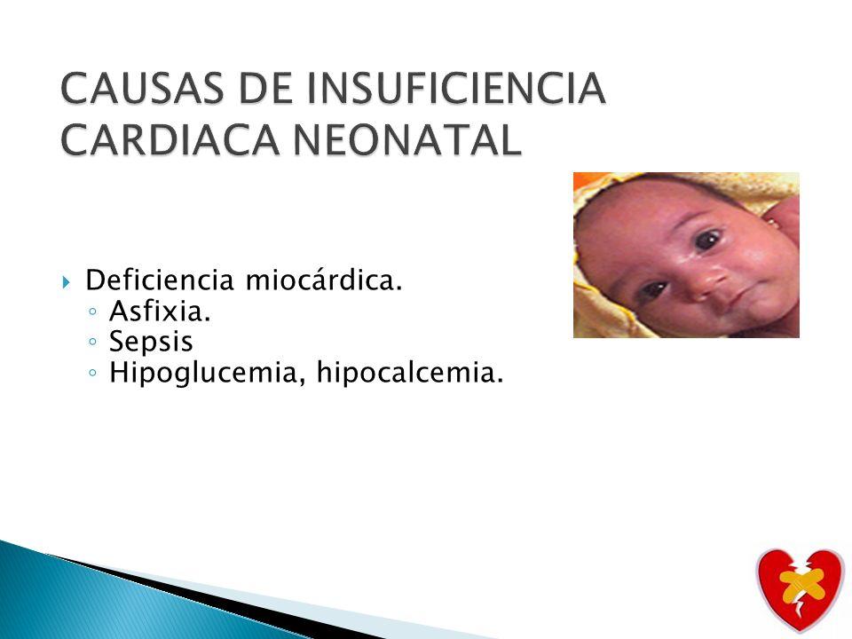 Cardiopatía congénita.Obstrucción izquierda: Ventrículo izquierdo hipoplasico.