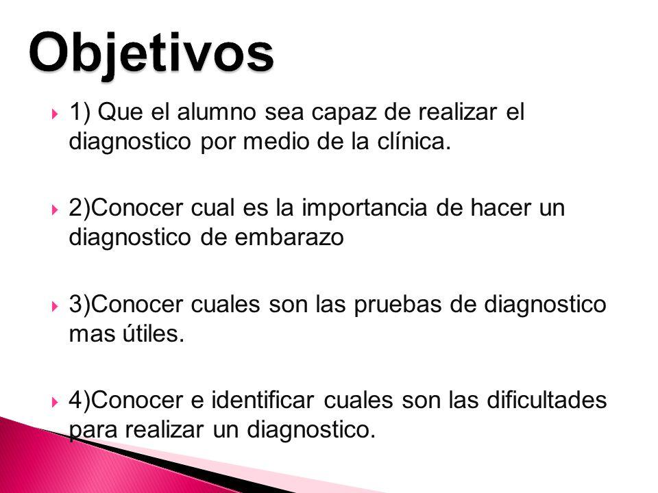 Importancia del diagnostico Dificultades del diagnostico Métodos de diagnostico