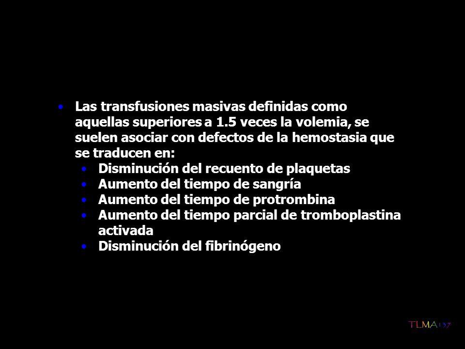 2.Indicaciones de transfusión de hematíes en menores de 4 meses Las razones para considerar este grupo de edad de forma separada se deben por un lado a la menor producción de eritropoyetina y a la depresión transitoria del sistema inmune Hematocrito menor del 20% con bajo recuento de reticulocitos y síntomas de anemia : Taquicardia Taquipnea Rechazo del alimento