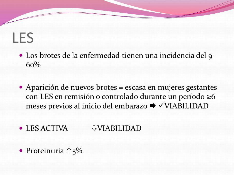 VASCULITIS Mal pronóstico Gestación poco frecuente Pérdida brusca de la función renal Elevada mortalidad (complicaciones vasculares, pulmonares e infecciosas) ESCLERODERMIA