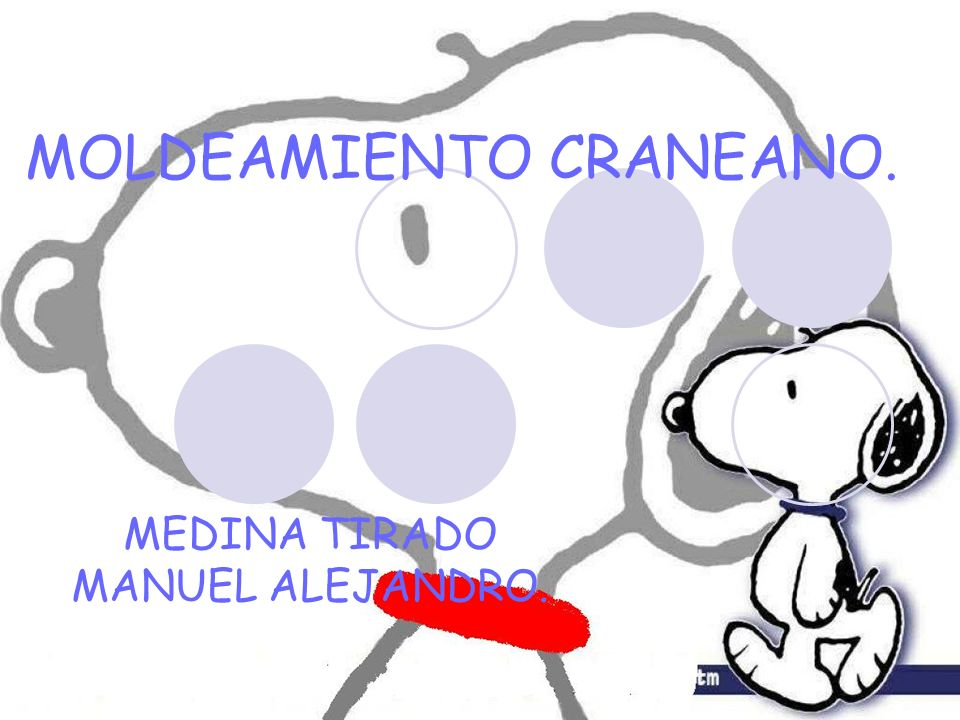 MOLDEAMIENTO CRANEANO. MEDINA TIRADO MANUEL ALEJANDRO.