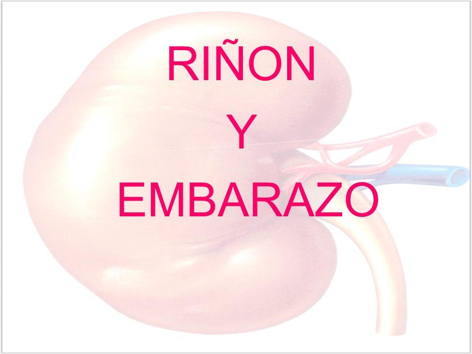 RIÑON Y EMBARAZO