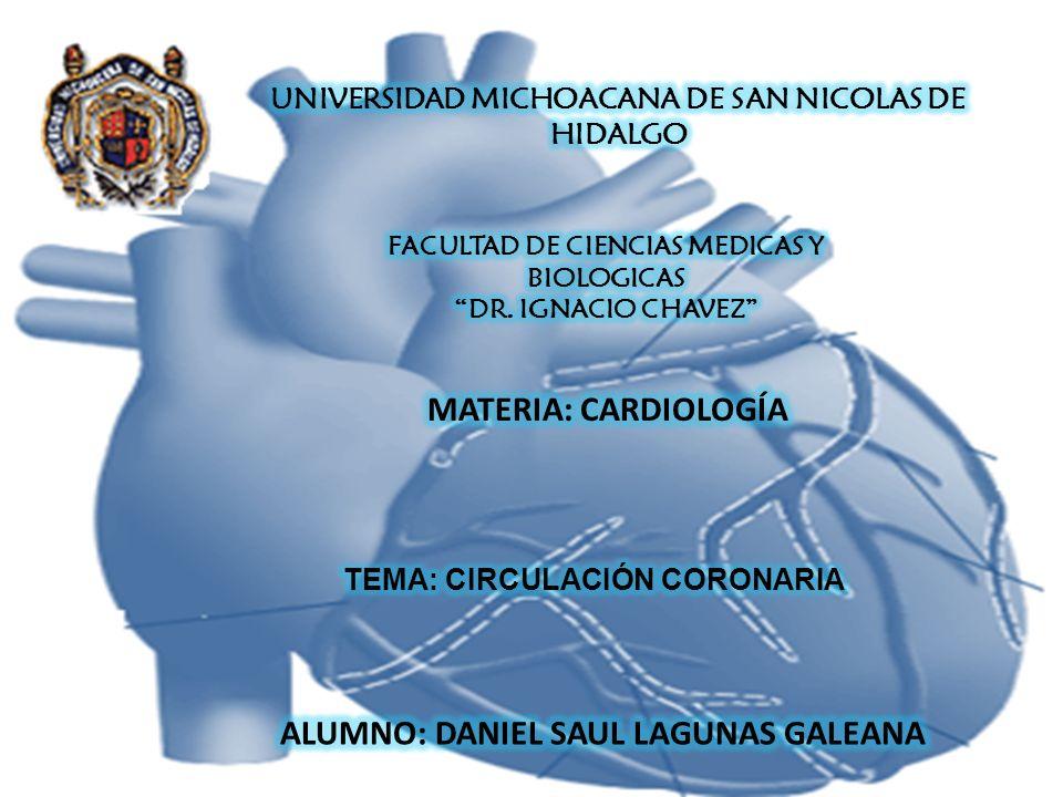 ARTERIAS CORONARIAS: