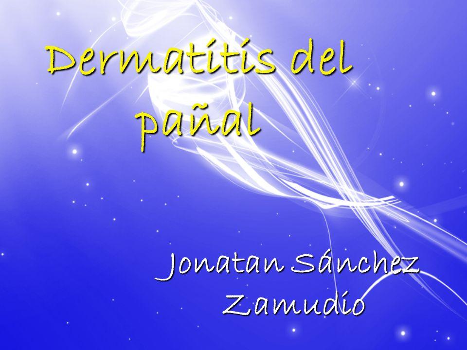 Dermatitis del pañal Jonatan Sánchez Zamudio