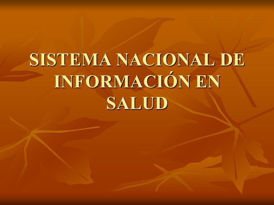 DEFINICIÒN Fuente de información homogénea, confiable, oportuna y completa para la toma de decisiones en materia de salud.