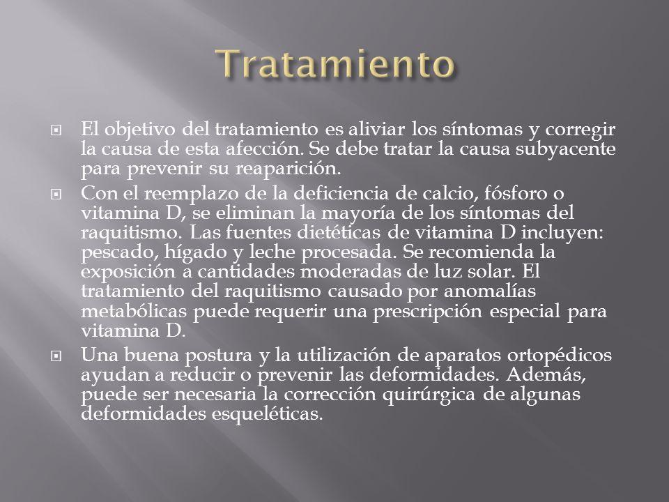El objetivo del tratamiento es aliviar los síntomas y corregir la causa de esta afección. Se debe tratar la causa subyacente para prevenir su reaparic