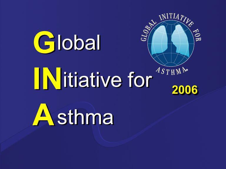 GINA 2006 ¡Esta es la más amplia revisión de las guías desde el 2002.