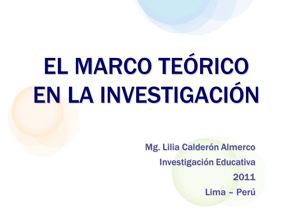 Marco teórico conceptual Nominaciones del marco teórico Marco teórico referencial Fundamento teórico Revisión de la literatura