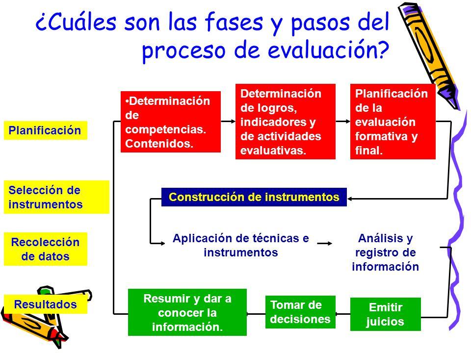 –Evaluación: –Énfasis del componente de evaluación entendida como una función pedagógica permanente de reflexión, mediante la determinación de criteri