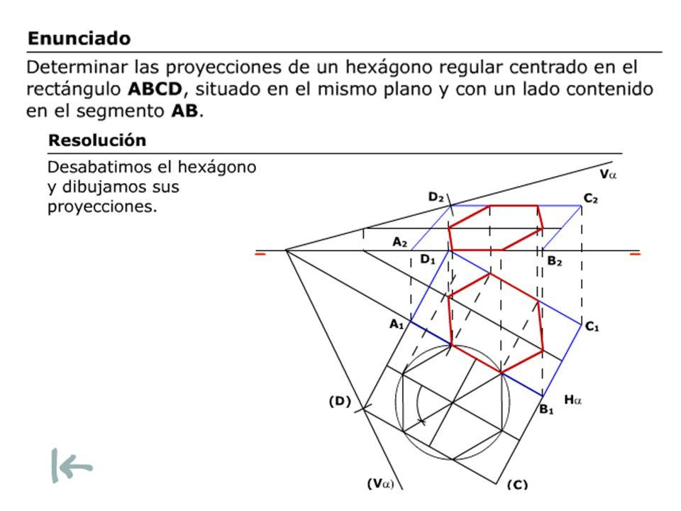 Un plano paralelo a la LT pasa por A(7,2,1) y por B(2,1,2) y contiene una circunferencia cuyo centro es el punto medio de AB y cuyo radio es 4 cm.