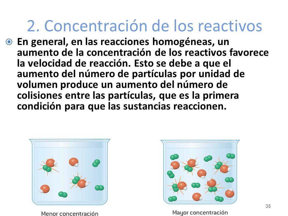 Ejemplo: ¿Cual es el valor de la energía de activación para una reacción si la constante de velocidad se duplica cuando la temperatura aumenta de 15 a