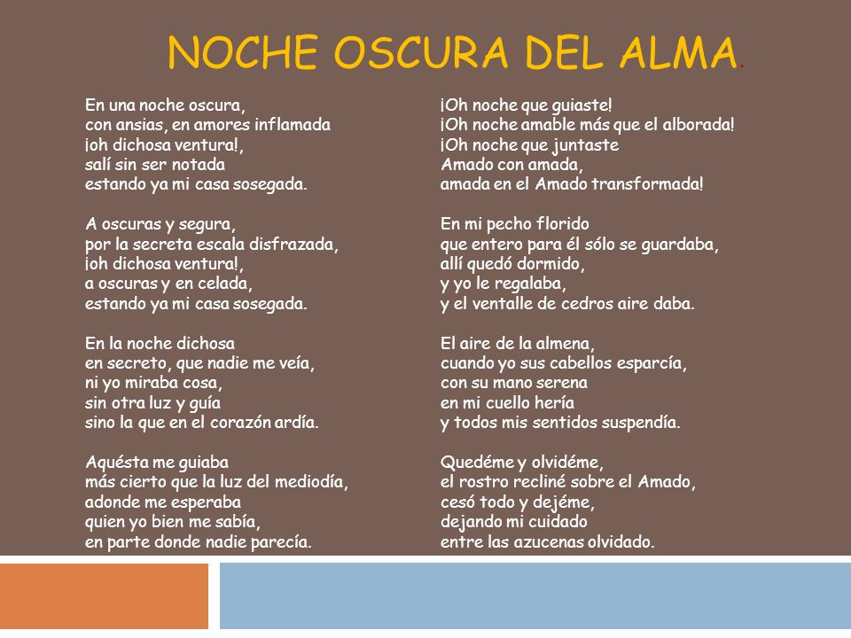 San Juan de la Cruz Ha sido definido como poeta máximo de obra mínima.