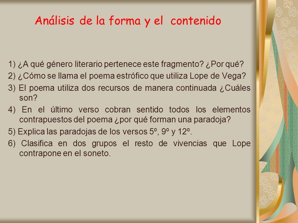 La poesía de Luis de Góngora En el segundo grupo nos encontramos con: Poemas en metro culto: Sonetos y Canciones en endecasílabos.