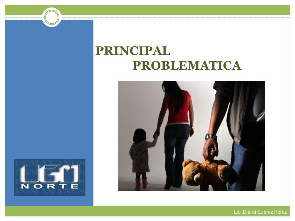 PRINCIPAL PROBLEMATICA Lic. Diana Suárez Pérez