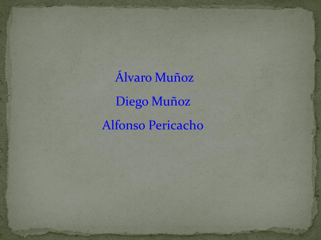 Álvaro Muñoz Diego Muñoz Alfonso Pericacho