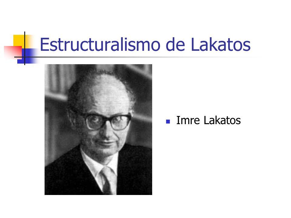 Estructuralismo de Lakatos Imre Lakatos